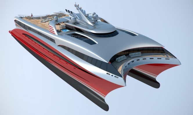 BMT Nigel Gee super yacht Project L3