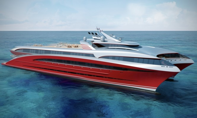 BMT Nigel Gee superyacht Project L3