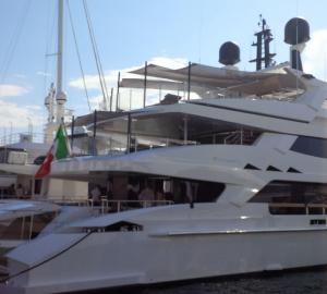 Baglietto 46m Displacement Hull 10216 Superyacht at Cannes Yachting Festival