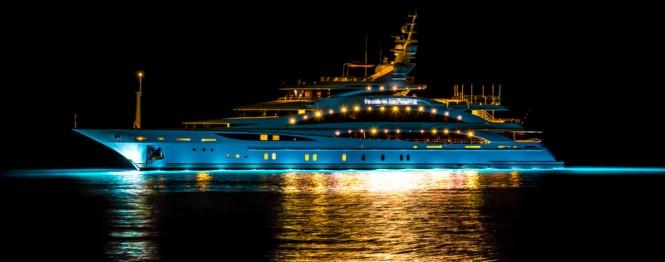 Benetti luxury yacht Diamonds Are Forever - Photo credit to Daniel Kennerknecht