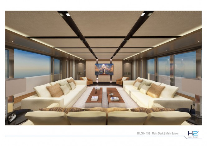 Bilgin 152 yacht by Bilgin Yachts - Main Deck Main Saloon
