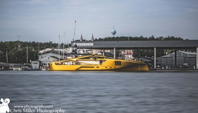 Carbon Composite 48M SuperSport PJ 265 Yacht by Palmer Johnson - Image credit to Chris Miller Photography