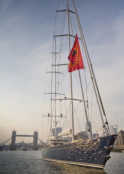 46m Pendennis Yacht Christopher in London - Copyright onEdition 2014