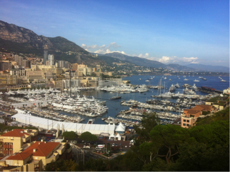 Day 1 of the Monaco Yacht Show, which is set to be Sunseeker's most impressive to date