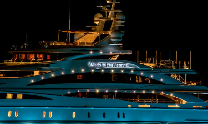 Diamonds Are Forever superyacht - Photo credit to Daniel Kennerknecht