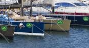 Dockside preparations at the Yacht Club Costa Smeralda - Photo credit to Rolex Carlo Borlenghi