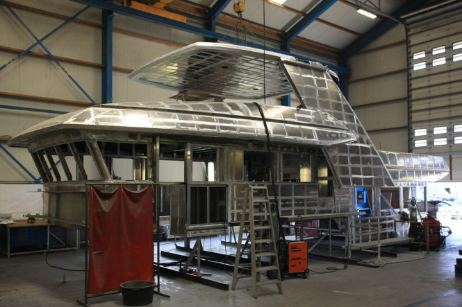 Drettmann DEY 24 Yacht taking shape