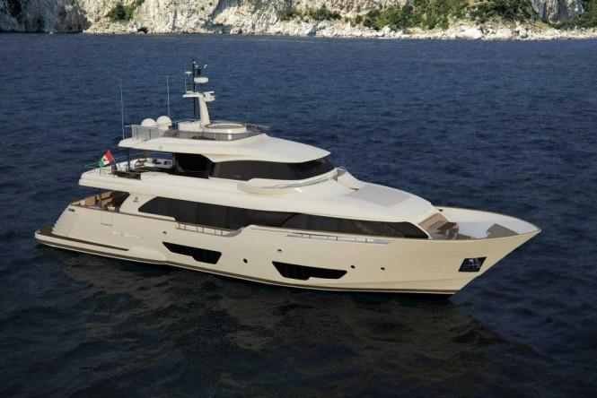 Ferretti Custom Line super yacht Navetta 28