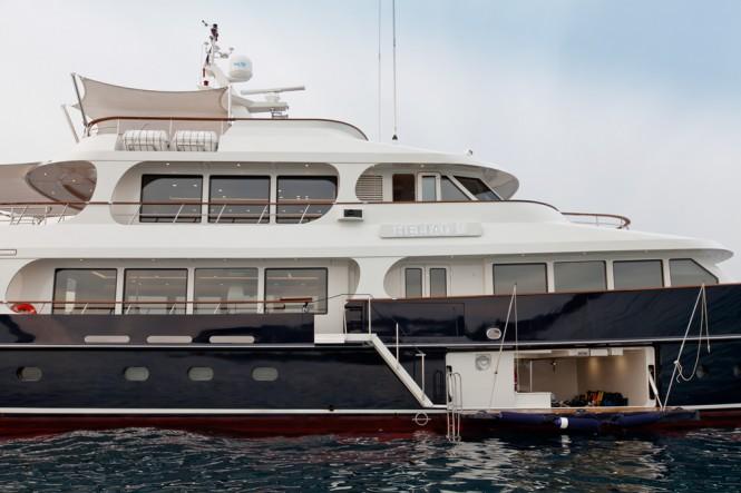 Heliad II Yacht by Lynx Yachts