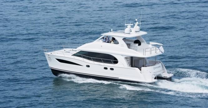 Horizon PC52 power catamaran