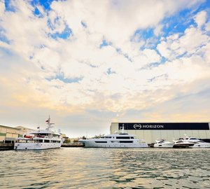 Horizon Yachts' summer activity