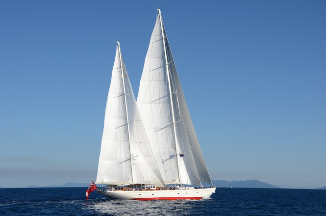 Huisfit sailing yacht Adele - photo by Adele crew