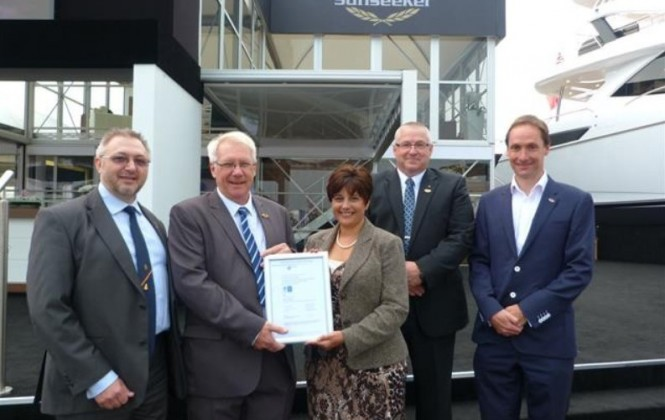 ISO 18001 Health & Safety Certification for Sunseeker Yachts