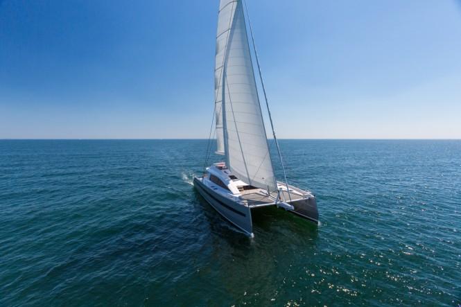 JFA superyacht WindQuest under sail