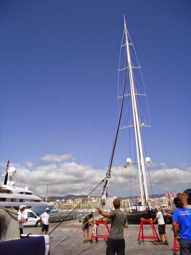 Kokomo Yacht - Stay Removal