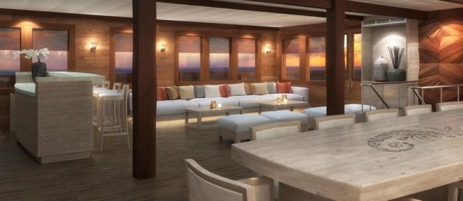 LAMIMA Phinisi Yacht - Saloon