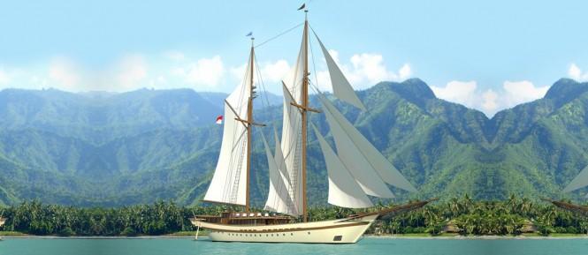 Luxury Sailing Phinisi Yacht LAMIMA