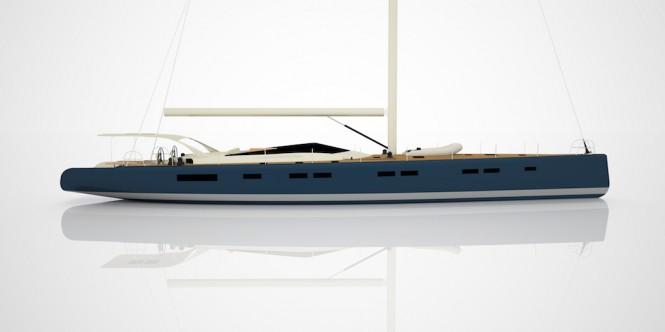 Luxury Super Yacht NAKUPENDA - Vismara Marine - Profile