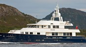 Luxury charter yacht Calliope