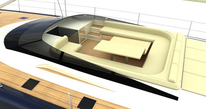 Luxury yacht NAKUPENDA