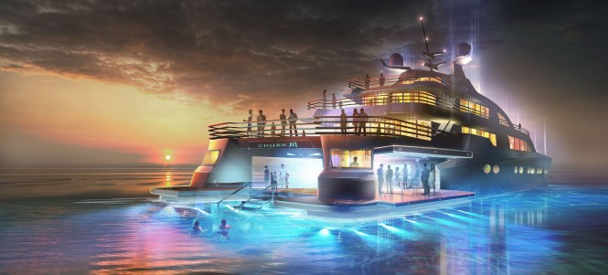 Luxury yacht Project Chuan