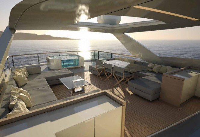 Luxury yacht SF 35 concept - Exterior
