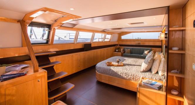 Luxury yacht WindQuest - Interior