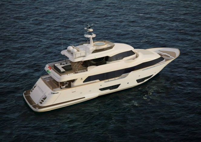 Navetta 28 Yacht from above