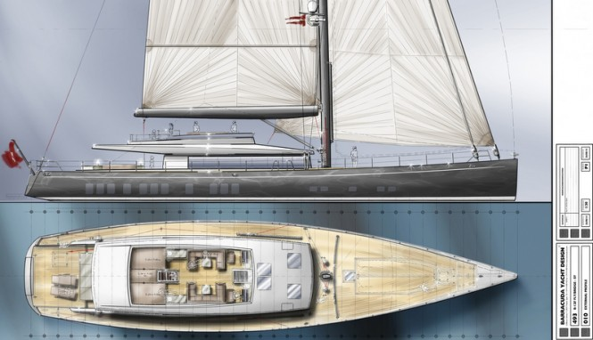 New 36,5m Super Yacht Design for Kingship by Barracuda Yacht Design
