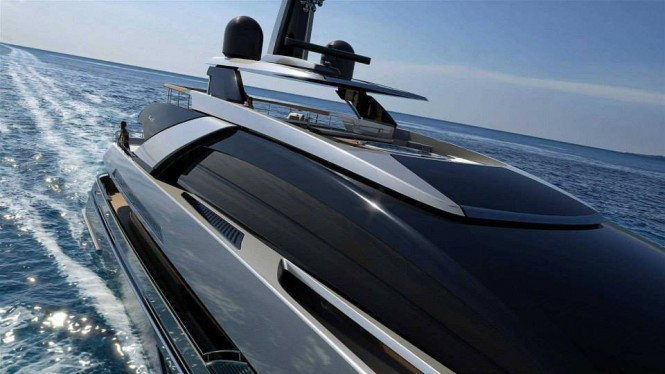 New 50m superyacht project by RIVA - Photo credit to Riva Yacht
