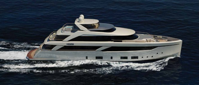 New Mondo Marine superyacht SF35 concept designed by Luca Vallebona for SF Yachts