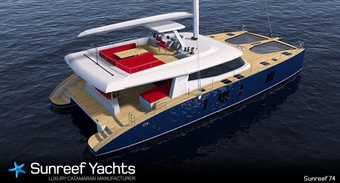 New sailing yacht Sunreef 74