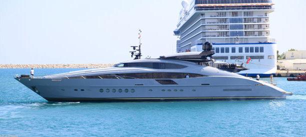 Palmer Johnson 150 motor yacht SKYFALL II (ex O'Khalila) refitted by Sunrise Yachts