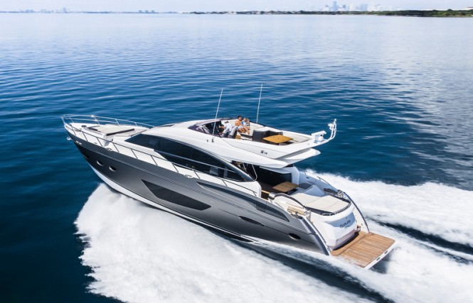 Princess S72 Yacht - Image courtesy of Princess Yachts International plc