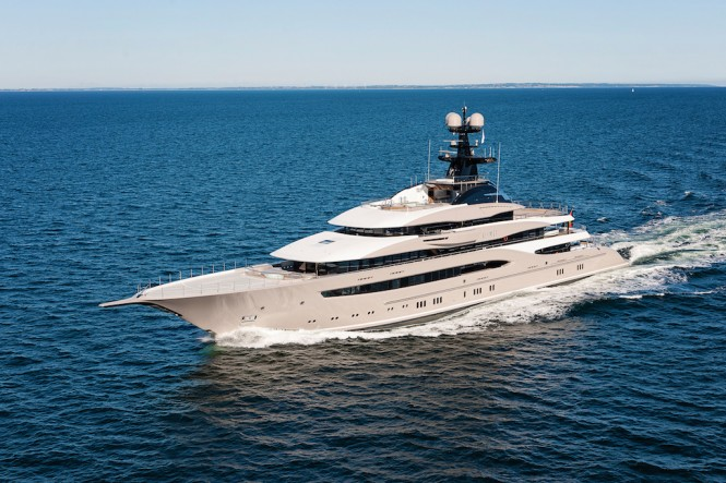 Project Global - Motor Yacht KISMET  - sea trial - Photo ©Klaus Jordan