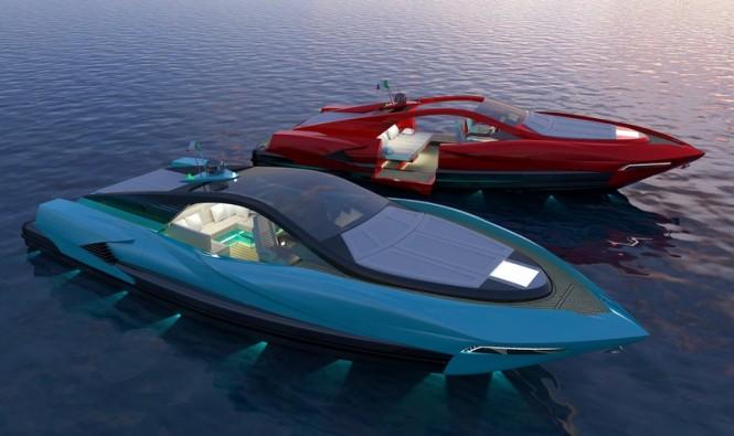 Project Italian Charme 46 yacht tender