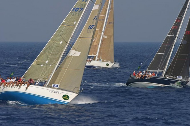 Eurosia during the 2004 Rolex Swan Cup - Photo: Carlo Borlenghi/ROLEX