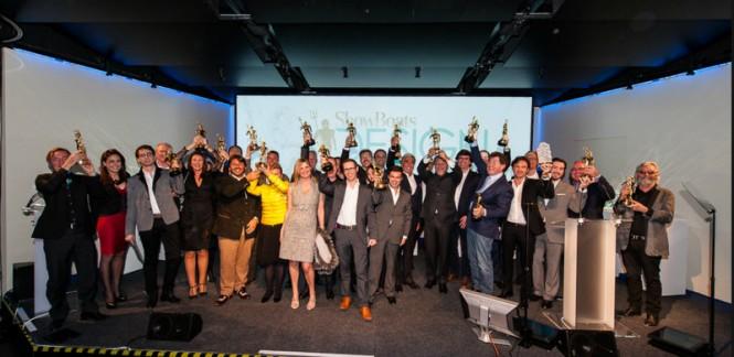 ShowBoats Design Awards 2014 Winners - Image credit to Boatinternational Media