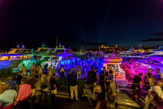 Spectacular VIP event hosted by Princess Yachts