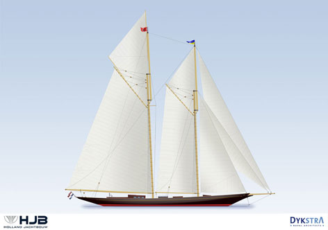 Spirit of Tradition luxury schooner RAINBOW II