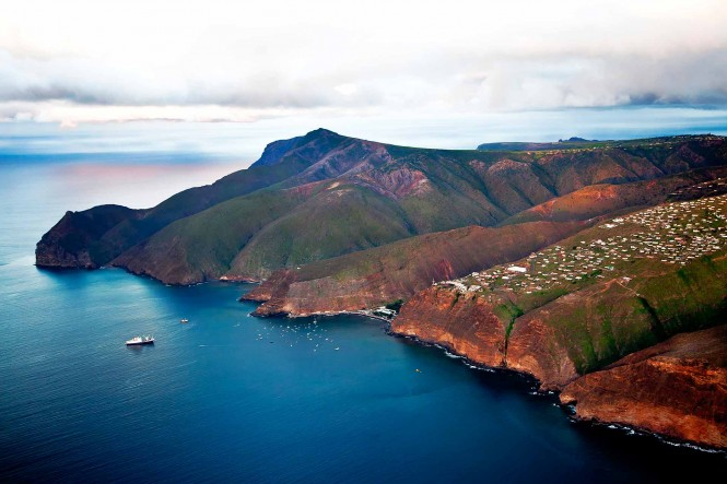 St Helena - Image courtesy of the Governor's Cup