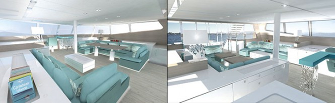 Sunreef 74 Yacht - Interior