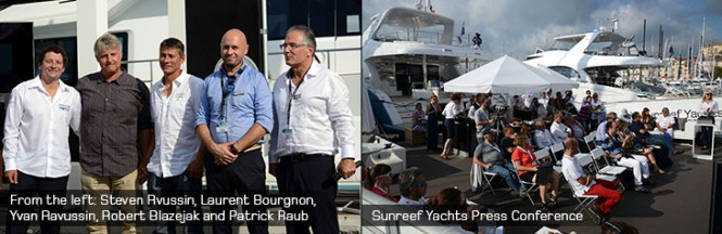 Sunreef Yachts at the 2014 Cannes Yachting Festival