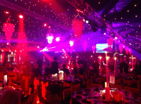 Sunseeker Cheshire and Sunseeker London attended the Creme de la Creme Ball in Cheshire