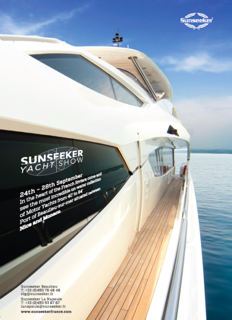 Sunseeker Yacht Show, September 24th to 28th, Beaulieu