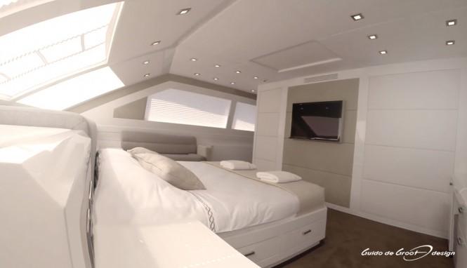 Super yacht 'Y' - Cabin