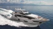 Superyacht Azimut 95 RPH running