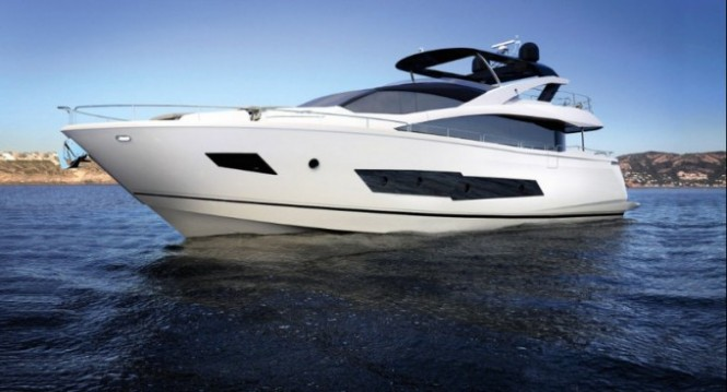 Superyacht Sunseeker 86 by Sunseeker International