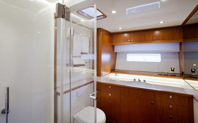 Swan 105 RS Yacht - Bathroom Photo by Nautors Swan and Eva-Stina Kjellman