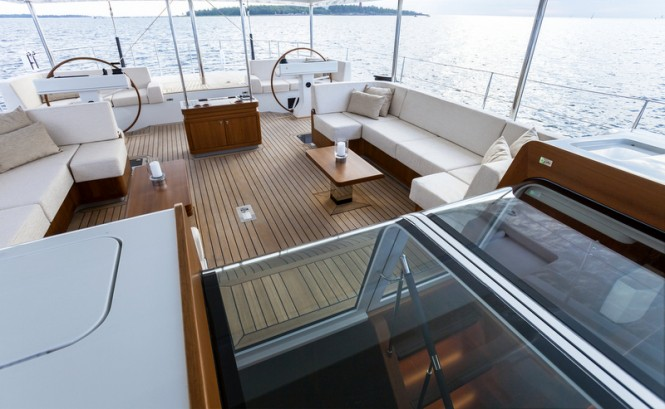 Swan 105 RS Yacht - Exterior Photo by Nautors Swan and Eva-Stina Kjellman
